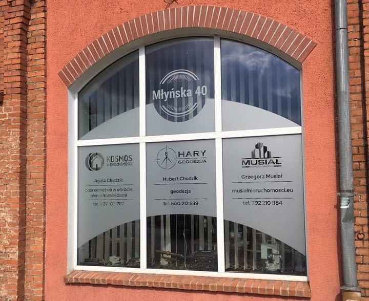 Witryna biura Hary Geodezja